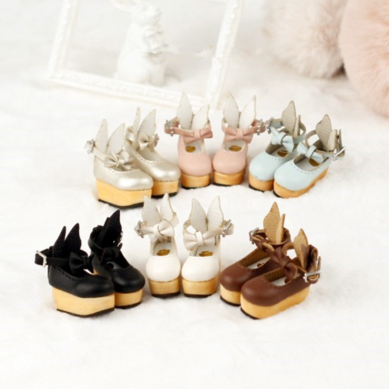 Blyth doll shoes honey rabbit shoes suitable for Blyth Licca Azone Momoko HOLALA doll accessories doll