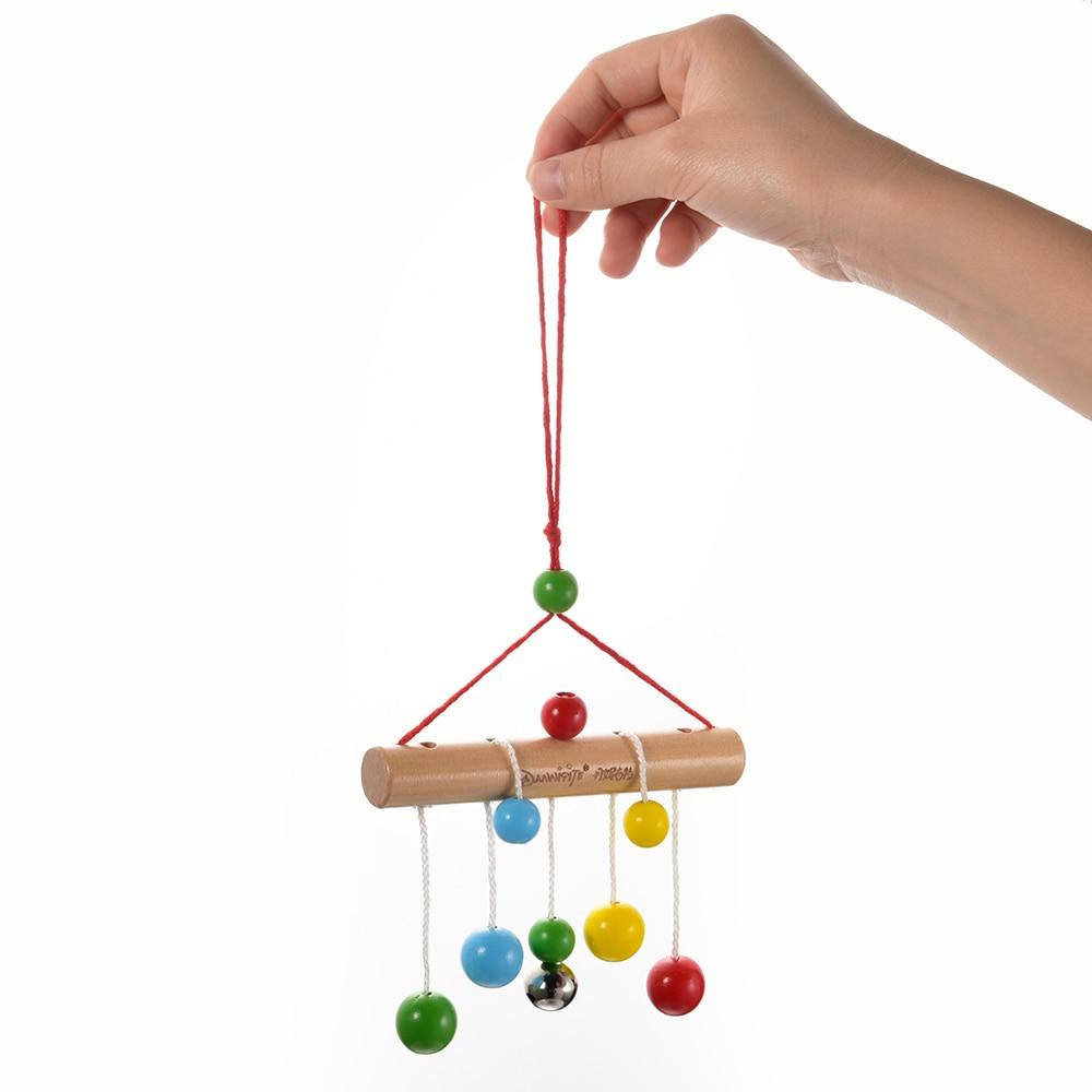 Baby Bed Decor Rammelaars Kleurrijke Bal Opknoping Bell Kids Fun Mobiles Beddengoed Speelgoed