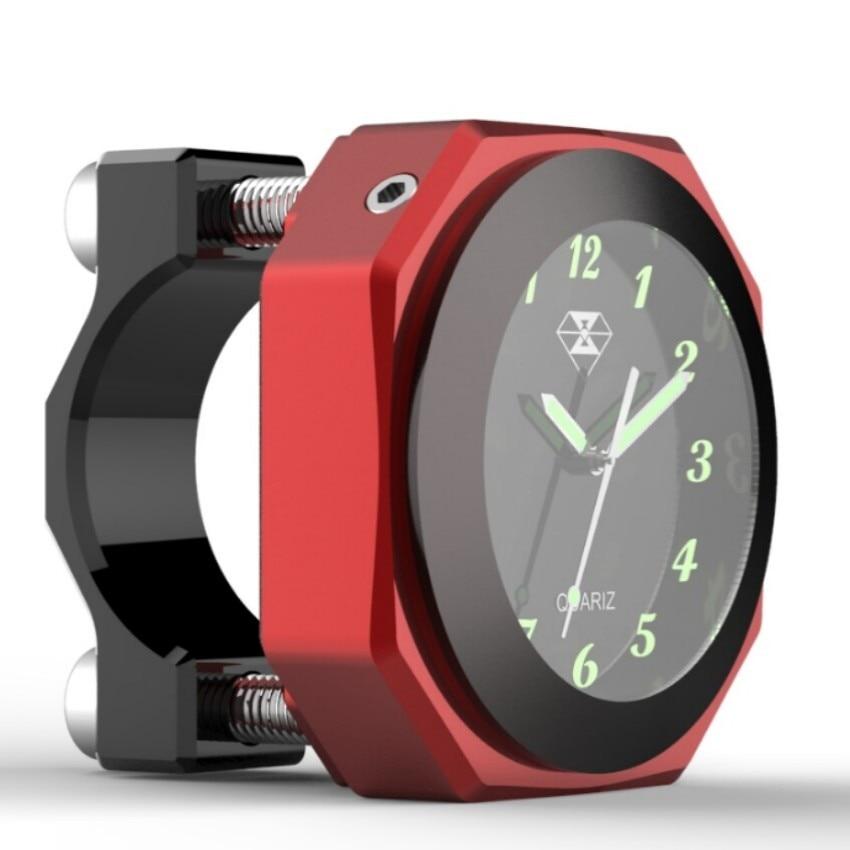 Spirit Beast motorcycle Luminous clock time alloy gauge temperature temp gauge cool styling waterproof can use 2 years
