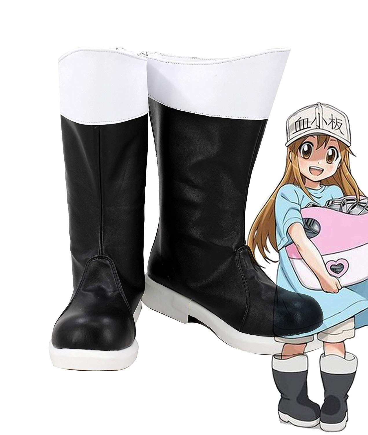 Cells at Work! Anime Blood Platelet Cosplay Boots Shoes ...