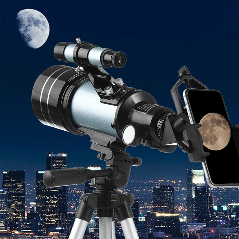Star-watching Astronomical Telescope F30070 Monocular Binoculars Landscape Lens Entry Outdoors Professional Spotting Scopes