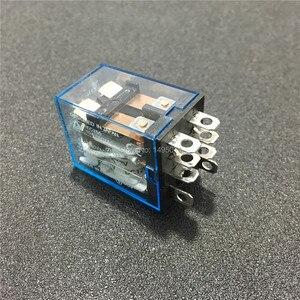 Image 4 - 10 zestawów LY2NJ 12VDC 24VDC 110VAC 220VAC mocą cewki przekaźnik Mini przekaźnik 8 Pins DPDT 10A LY2N J HH62P JQX 13F z PTF08A podstawa gniazda