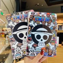 Cartoon ONE Piece HD screen protection film&tablet PC Case for Apple iPad Air 1 2 5 6 New 9.7 2017 2018 5th 6th