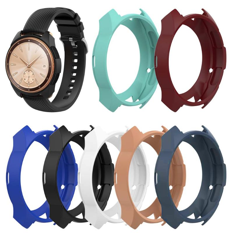 Coque souple en Silicone coque de protection coque de protection pour Samsung Galaxy Watch 42mmCoque souple en Silicone coque de protection coque de protection pour Samsung Galaxy Watch 42mm