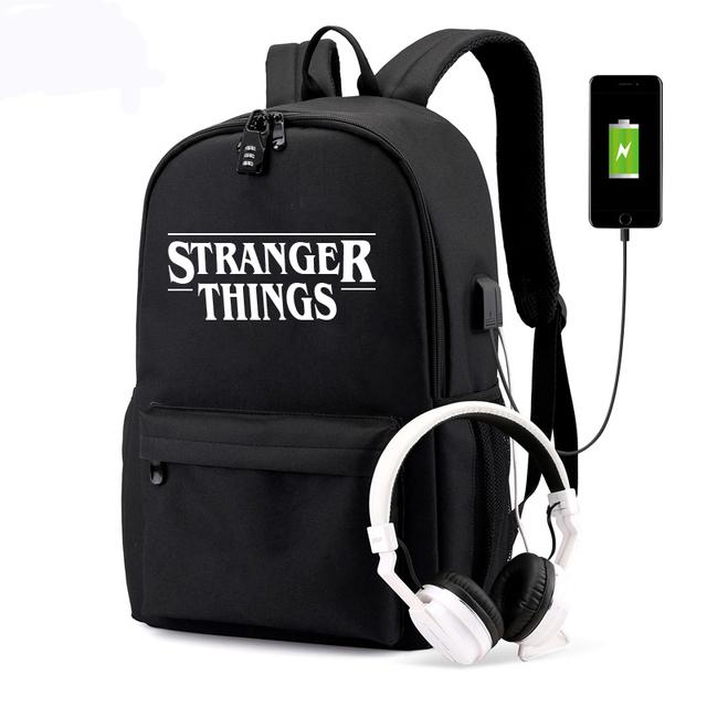 STRANGER THINGS BACKPACK  (2 VARIAN)