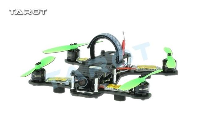 F17840 Tarot TL130H1 RTF Mini Racing Drone Alien 130 Quadcopter Carbon Fiber Frame with Controller Motor ESC Prop FPV Parts