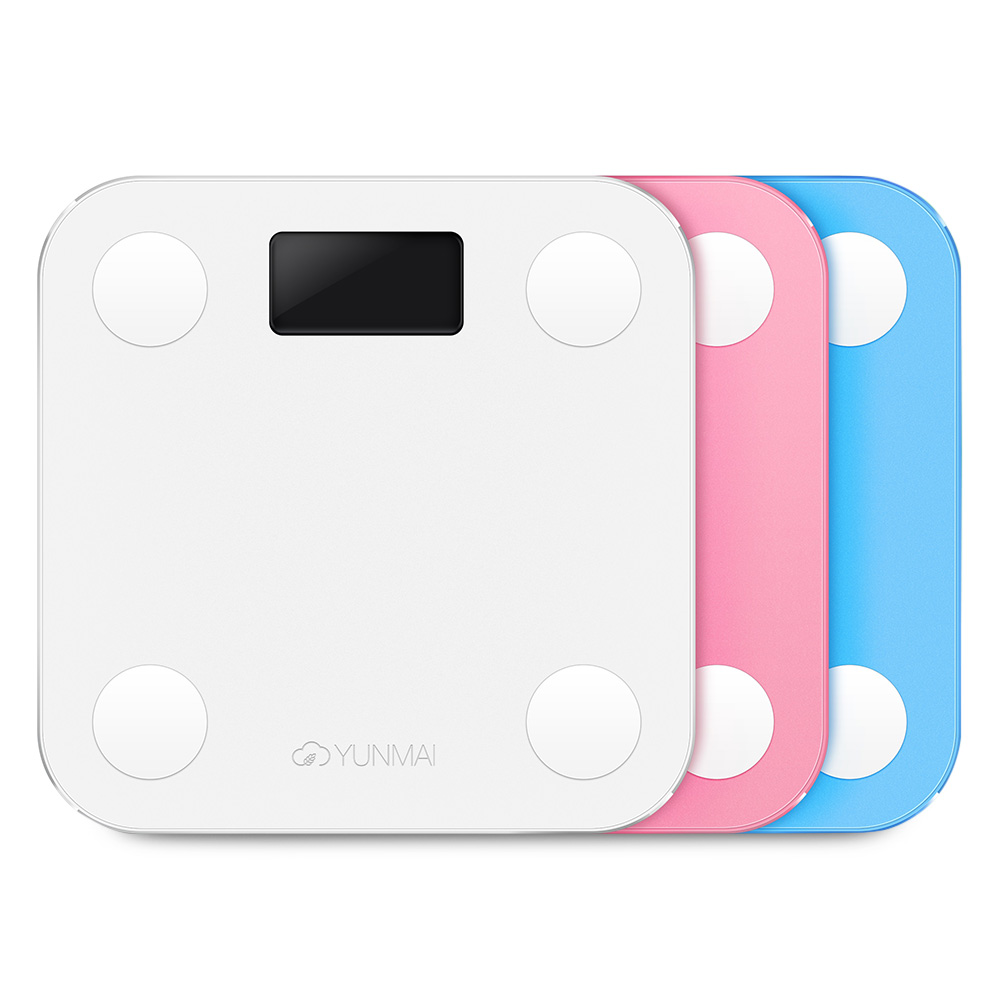 Hot Sale YUNMAI Body Fat Smart Scales Color LED Digital Weight Bluetooth Body Fat Percentage Household APP Scale Mini