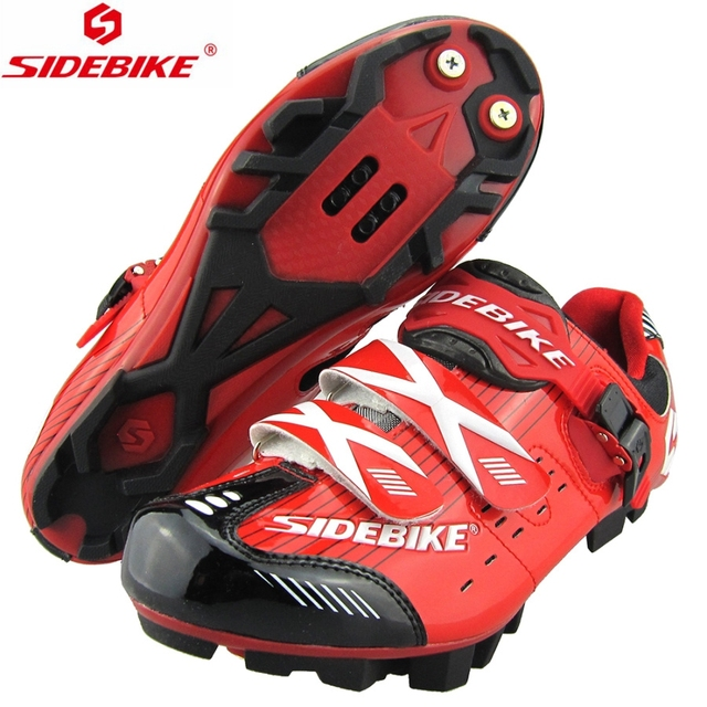 2017 New Sidebike MTB Shoes Mountain Bike Cycling Bicycle Shoes Highway Lock Men Athletic Bicycle Cycling sapatilha ciclismo mtb
