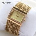 2017 Luxury Women Watches Gold Silver stainless Steel Diamond Ladies Quartz Bracelet Watches Dress clock Relogio Feminino