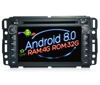 Octa 8 Core Android 8 0 Car Dvd Player Gps FOR GMC Yukon Tahoe Navi Audio
