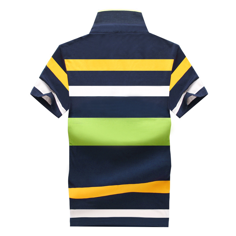 Image 4 - Hot Sale 2019 Summer New Arrival Men Polo Shirt Fashion Good Quality Classic Striped Homme Camisa Short Sleeves-in Polo from Men's Clothing