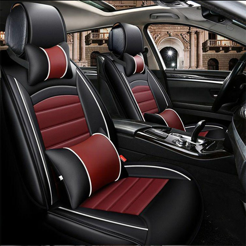 Universal car seat covers Auto Seat Covers for car accessories for Audi S7 S8 TTS SQ5 SQ ...