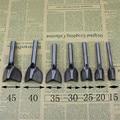 7 stücke Leder Werkzeuge Behandlungen Handwerk DIY winkel V punch filet 0031810-in Stempel aus Heim und Garten bei