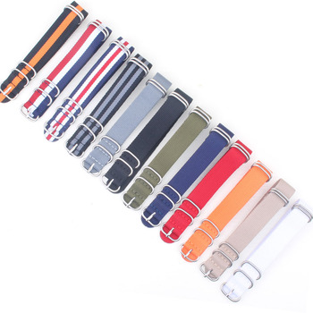 Buy 2 Get 10% OFF) Cambo Stripe 16mm 18mm 20mm 22mm 24mm Nato Zulu fabric For G10 Nylon Watch Strap Black Grey watchbands Bands for suunto core nylon diver watch strap band kit w lugs 5 ring pdv clasp 20 22 24mm zulu for nato g10 tools