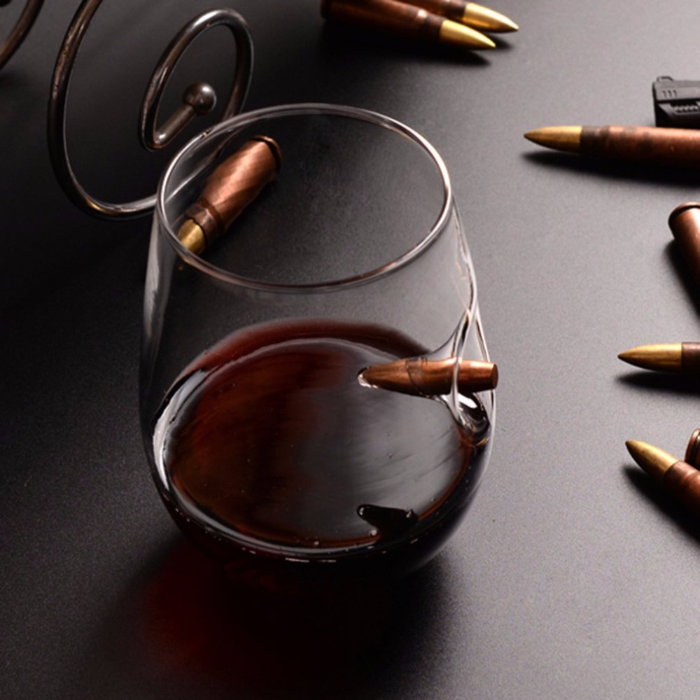 Bullet Whisky Crystal Glass 1