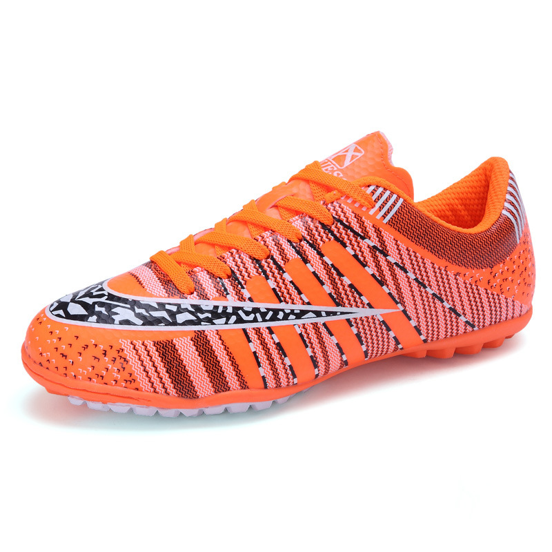 1d4a49c65 New Men Kids Soccer Cleats Brands Artificial Grass Spikes Shoes Sport  Sneakers Mens Soccer Cleats Leather Football Shoes-in Soccer Shoes from  Sports ...