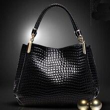 Высокое качество высокое качество из искусственной кожи Для женщин сумки messaage сумки большой мешок новые картины аллигатора сумки на ремне Для женщин сумки