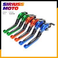 Motorcycle Folding Extendable Brake Clutch Levers Case for Honda Hornet CB600F 2007 2013