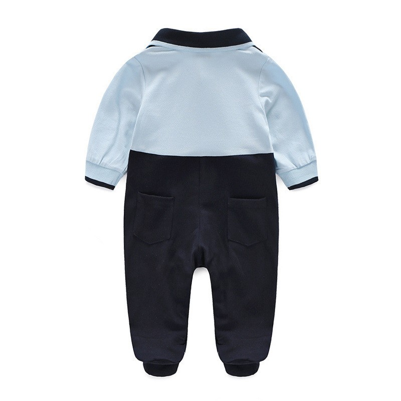 Baby Boys Rompers Newborn Baby Clothes Baby Body Suit 2017 Spring Autumn Bebes Overalls Jumpsuits Long Sleeves Baby Costumes
