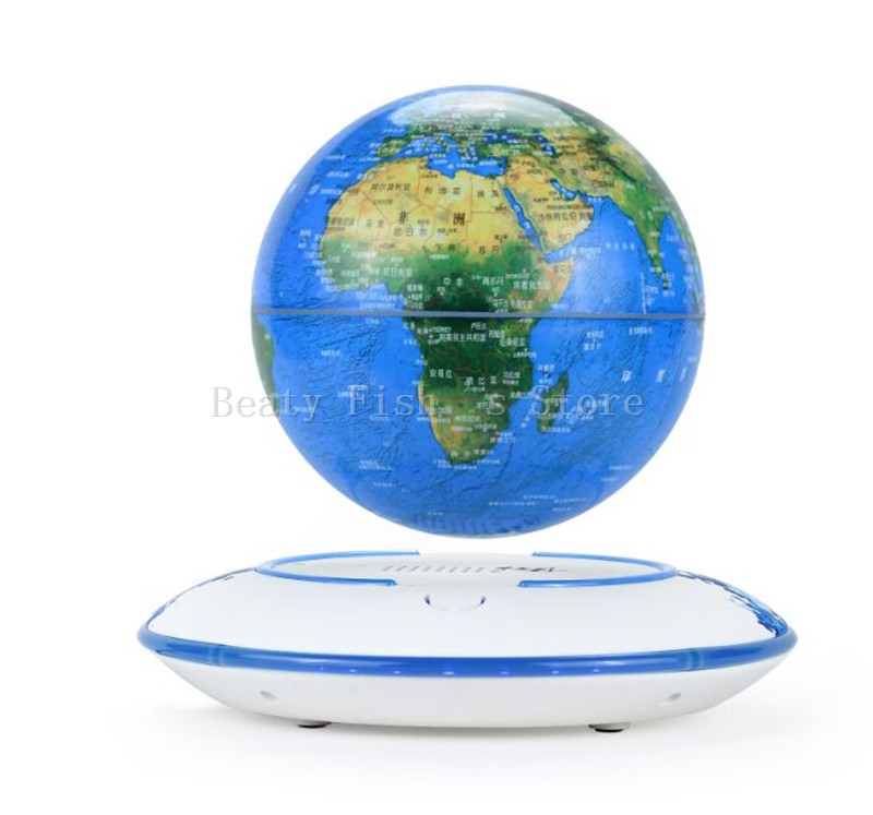 360 Degree World Map.World Map Maglev Globe 360 Degree Rotating Earth Star Magnetic