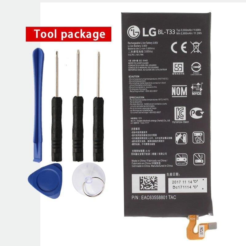 Original BL-T33 Battery for LG Q6 M700A M700AN M700DSK M700N 3000mAhOriginal BL-T33 Battery for LG Q6 M700A M700AN M700DSK M700N 3000mAh