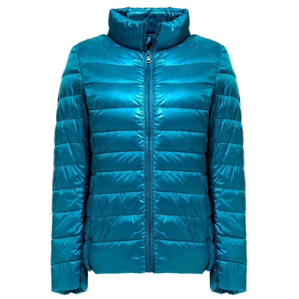 2019 New Autumn Winter Ultra Light   Down   Jacket Women Windproof Warmth Women's Lightweight Packable   Down     Coat   Plus Size Parkas