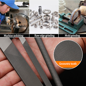 Image 5 - EVERPOWER צרצור 5pcs מתכת קובץ סטי מחט קבצי סט פלדה נגרות לחתוך כלים משולש מלבני בצורת חצי עיגול גלילי