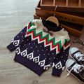 2017 spring and autumn new style baby fashion cute boy knitted sweater children pullover sweater College wind diamond sweaters