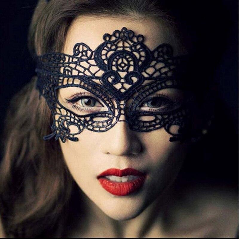 Lace Slips Hot Sale women black Eyelash Eye Mask lace transparent Half slips hot intimates underwear Costumes Babydoll Tempation