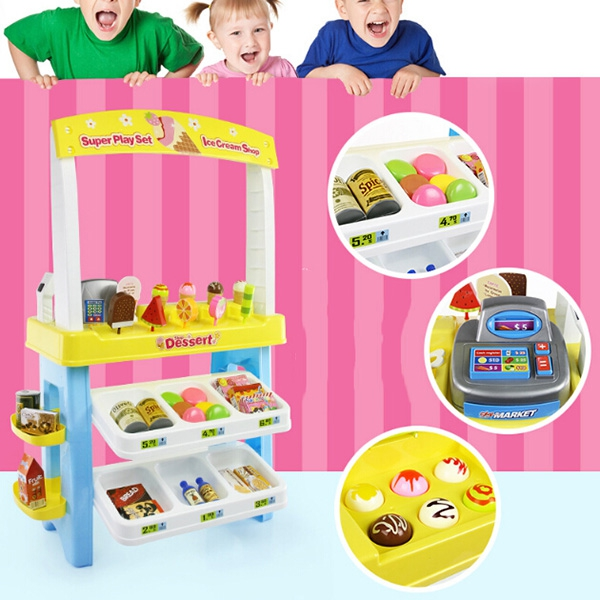 Abay 2019 Горячая моделирование мороженое продажи автомобиля детская игрушка WB 63 - 2