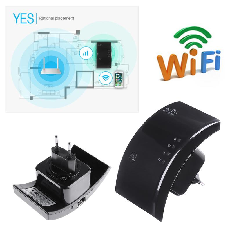 300Mbps Wireless Router Wifi Amplifier 2.4G Range Wi-Fi Signal Extender Amplifier 802.11N/B/G Signal Booster AP For Home