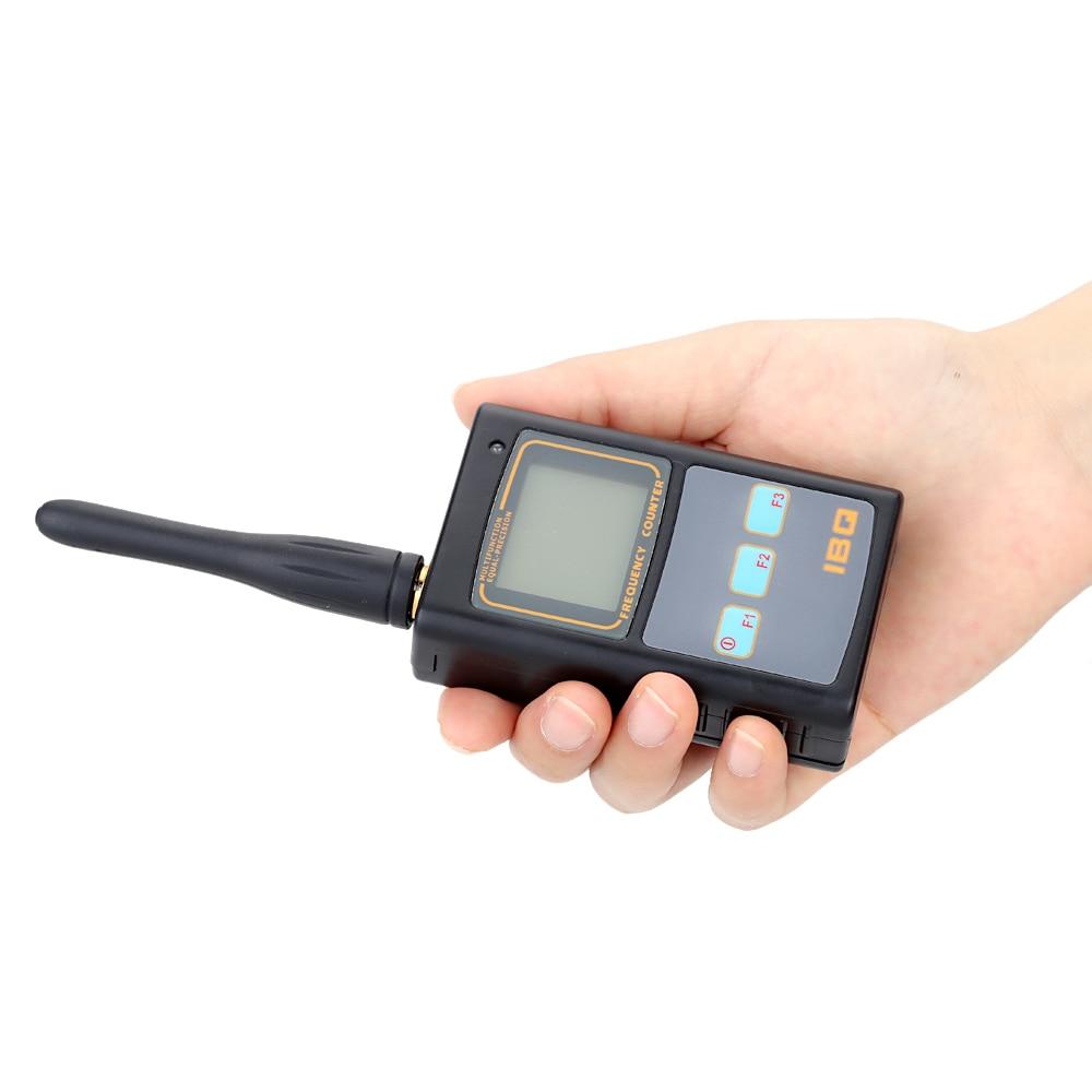 Mini Haltegriff Frequenz Meter LCD Display Frequenz Zähler für Zwei Weg Radio Transceiver GSM 50 mhz-2,6 ghz