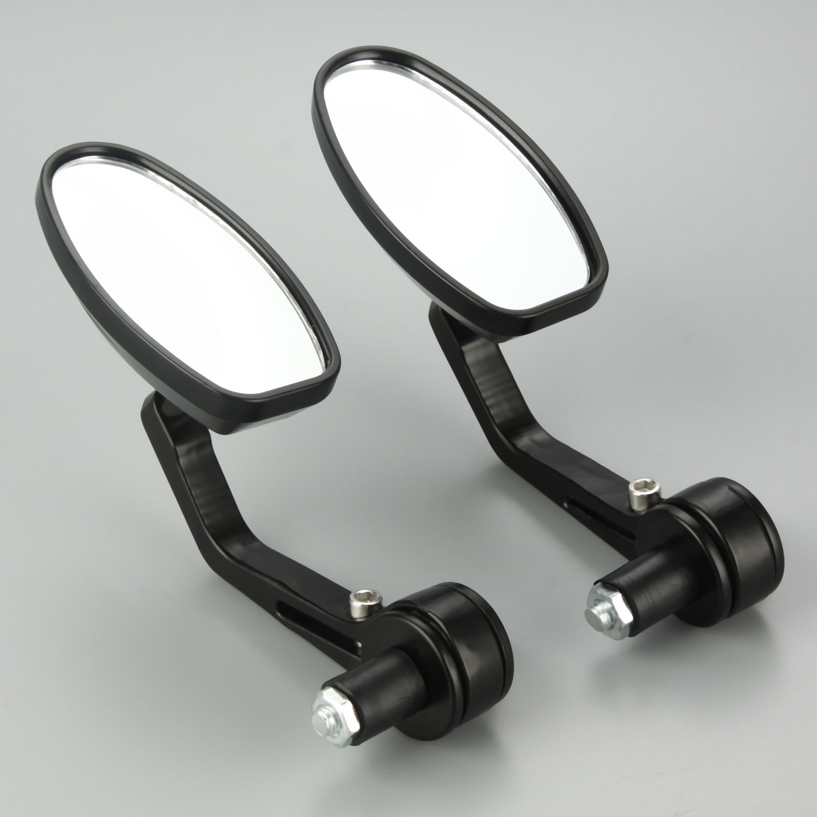 "Motorcycle Rear View Mirrors 7/8"" CNC Aluminum Motorbike Rearview Mirror Cafe Racer For 22mm Handlebar Motorcycle-in Side Mirrors & Accessories from Automobiles & Motorcycles"