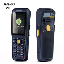 3.2 Inch wireless Android data terminal 1D,2D laser  barcode scanner handheld data collector pos PDA with bluetooth,3G, Wifi,GPS