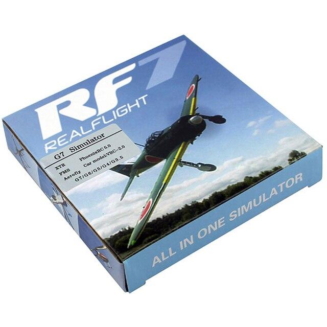 Phoenix marque 22 en 1 USB RC simulateur pour le soutien en vol réel G7.5 G7 G6.5 G5 Flysky FS-I6 TH9X