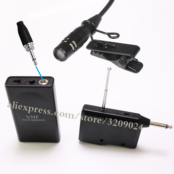 One Set Wireless Tour Guide System UHF frequency wireless microphone Transmitter Receiver Lavalier Microphone