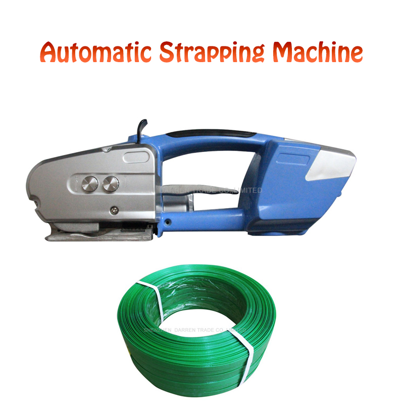 Portable PP PET Strapping Machine Automatic Plastic Strapping Machine Handheld Battery Strapping Tool Plastic Belt Packer JD16 цена