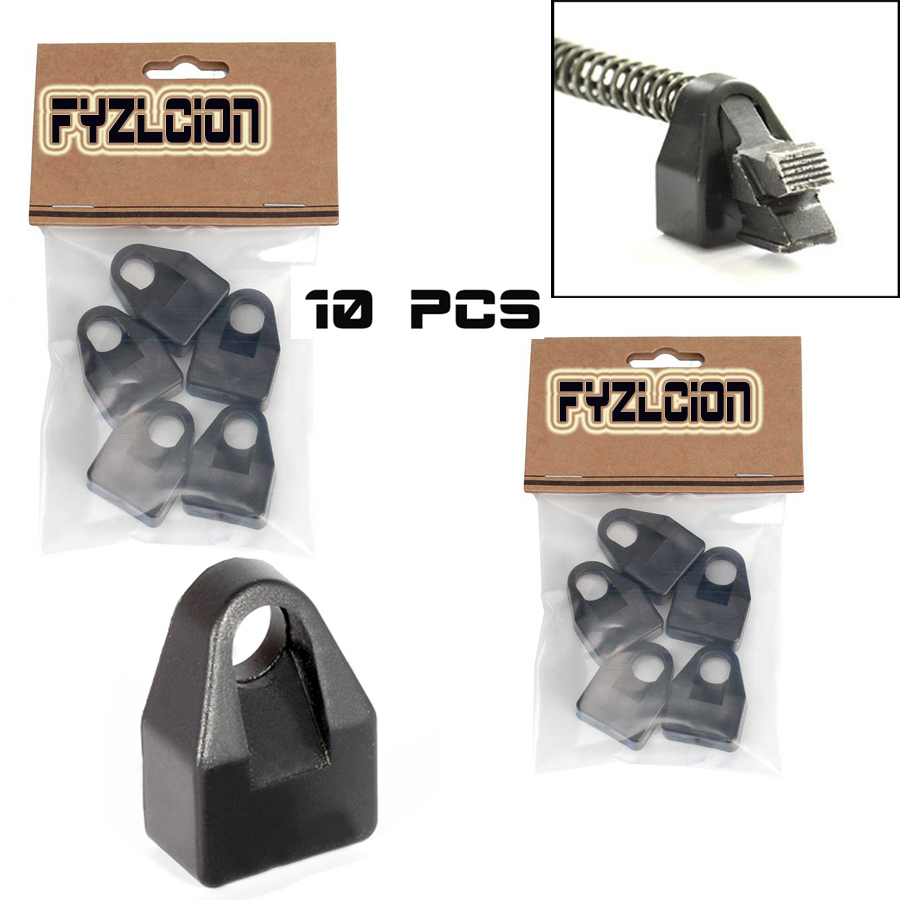 Fyzlcion 10PCS Recoil Buffer 7.62 x 39 Buffer Pad Shock Absorbing Polymer Reduction fits Tactical AK74