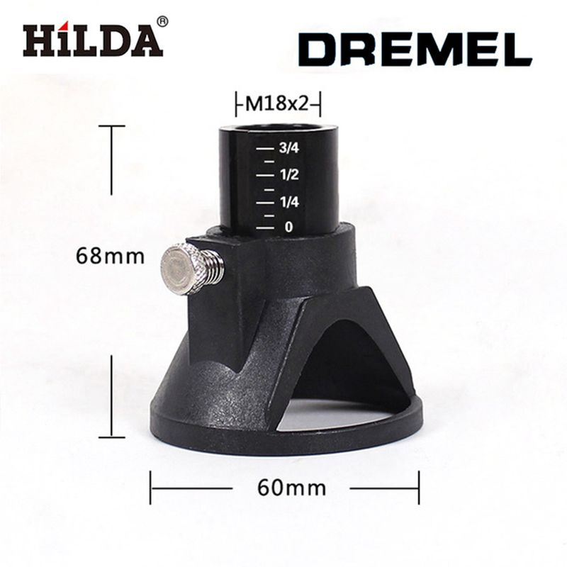 HILDA 68x60 mm dremel accessories located Horn Dremel Drill Dedicated Locator for Dremel drill Rotary accessories 1 pcs located horn dremel drill dedicated locator for small electric grinder dremel drill rotary dremel accessories