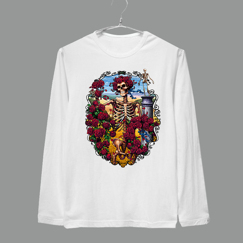 The grateful dead knocking on heaven\u0027s door full long sleeves brand new tee shirt : door grates - Pezcame.Com