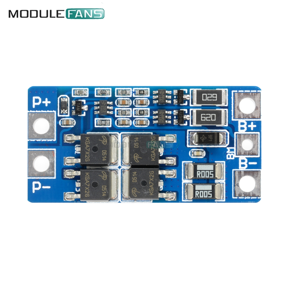 5pcs 2s 10a 84v 74v 18650 Li Ion Lipo Lithium Charger Protection Balancer Seven Segments Board