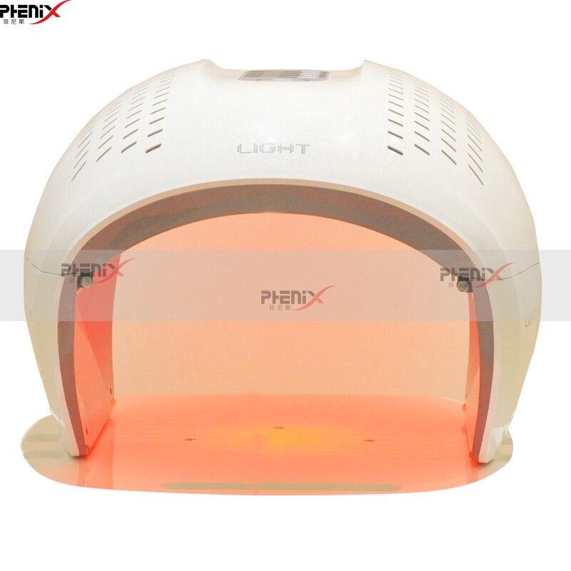 Beauté thérapie LED photon masque Facial lumière soins de la peau machine rides acné enlèvement visage beauté Spa Instrument