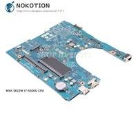NOKOTION For Dell Inspiron 5458 5558 5758 Laptop Motherboard CN 0RC3PN 0RC3PN AAL10 LA B843P SR23W I7 5500U CPU
