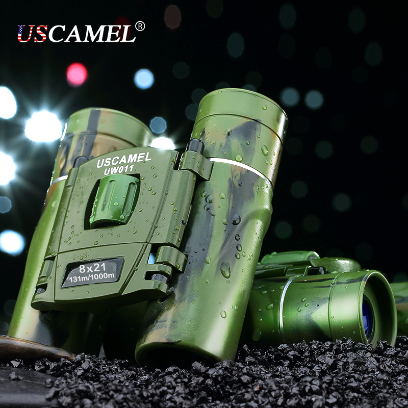 USCAMEL 8x21 Бінокль компактного - Кемпінг та піший туризм - фото 4