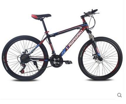 Горный велосипед 21 скорость 26 дюймов студент велосипед двойной диск Bicicleta высокого качества шины полный велосипед Подвеска велосипед