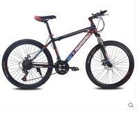 طالب دراجة مزدوجة القرص الدراجة الجبلية 21 سرعة 26 بوصة عالية الجودة الإطارات الدراجة كاملة تعليق bicicleta دراجة