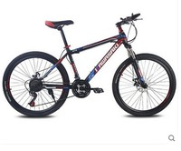 Mountain Bike 21speed 26 Inch Student Bicycle Double Disc Bicicleta High Quality Tire Complete Bike Suspension