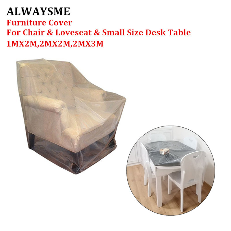 Alwaysme Furniture Cover For Moving Protection And Long Term Storage Loveseat Chair Small Size Desk Table Sofa