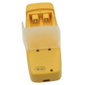 Image 4 - 2 fentes chargeur de batterie USB intelligent pour Rechargeable alcaline AA AAA AAAA 1.5V batterie mini mode jaune chargeur affichage LED