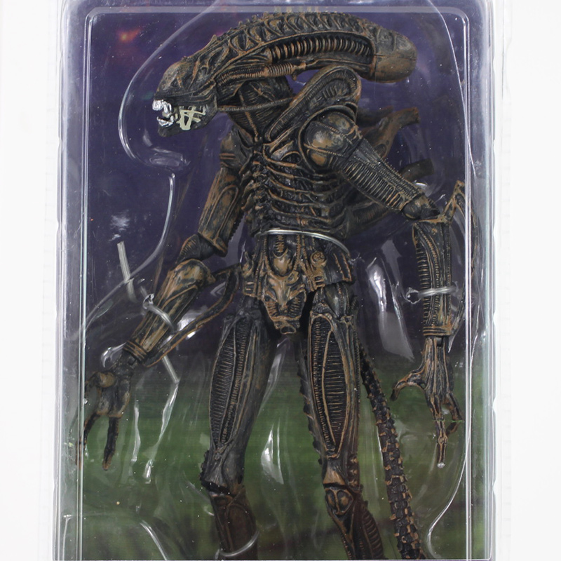 NECA 1979 Classic Original Alien Aliens Xenomorph Warrior Official Action Figure e Optional Toy PVC 21cm Free Shipping neca aliens 1 4 scale xenomorph warrior super big pvc action figure collectible model toy 18 retail box ems free shipping wu600